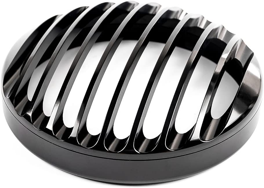 Black 5.75Motorcycle Headlight Grill Cover For Sportster XL 883 1200 2004-2014