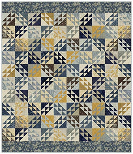Christopher Wilson-Tate Regency Sussex Cricket Quilt Kit Moda Fabrics ()