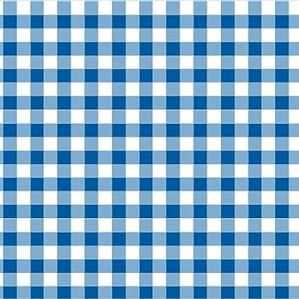 100/% Cotton Fabric Nursery Patchwork Gingham 9mm Pale Blue Cotton Classics