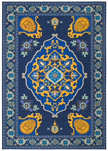 Safavieh Collection Inspired by Disney's live action film Aladdin - Magic Carpet Rug (5' x 7')]()