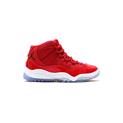 Jordan Jungen 378039-623_11C Nike 11 Retro BP 378039-623, Kinder, Rot