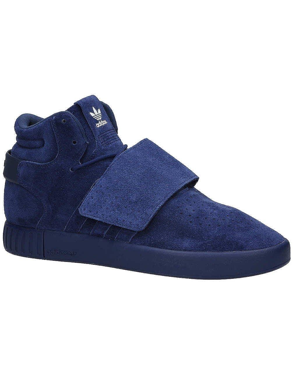 Dark bleu Dark bleu Ftwr adidas Originals Tubular Invader Strap BB5036 bleu paniers chaussures chaussures Pour des hommes