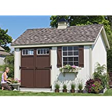 Little Cottage Company Colonial Pinehurst 10'x12' DIY Shed Kit