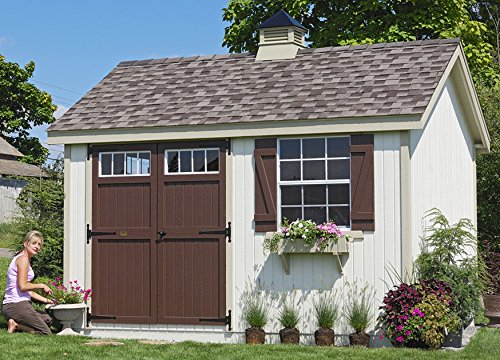 Little Cottage Company Colonial Williamsburg 8'x8′ Precut Shed Kit