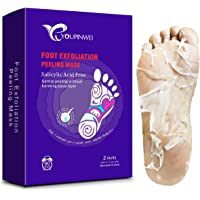 Exfoliating Foot Peel Mask YOUPINWEI for Dead Skin and Dry Heels, Peeling way Calluses and Dead Skin Remover, Get Soft…