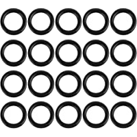 X AUTOHAUX 100pcs Green O-Ring Seal Gasket Washer for Car 8 x 2.5mm