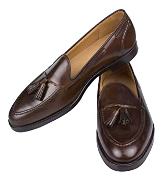 ea4e0a507 C&J for Ralph Lauren Marlow Cordovan Tassel Loafers Shoes Size 11 England