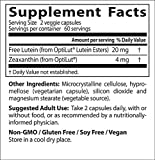 Doctor039s Best Lutein with OptiLut Non-GMO Vegan Gluten Free Soy Free Eye Health 10 mg 120 Veggie Caps Discount