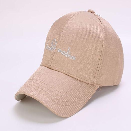 zhuzhuwen Sombrero de Mujer Moda sombrilla de béisbol sombrilla de ...