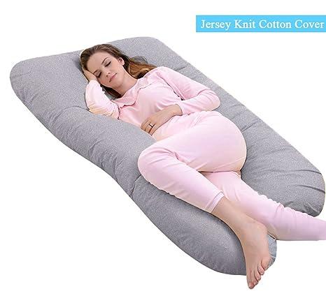 u shaped pregnancy pillow Amazon.com: Ang Qi U Shaped Pregnancy Pillow with Easy on off  u shaped pregnancy pillow