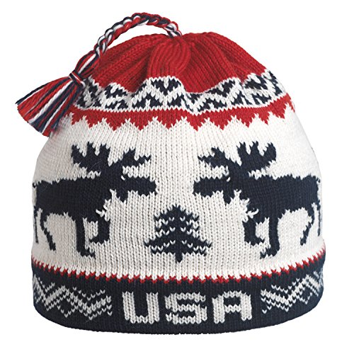 938275c1f54 Vermont Originals USA Moose Ski Hat