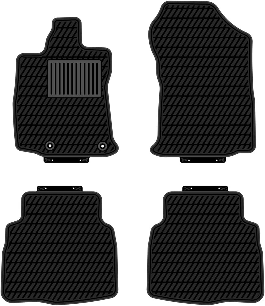 All Weather and Season Protection Car Carpet kaungka Heavy Rubber Car Front Floor Mats Compatible with 2020 Subaru Outback