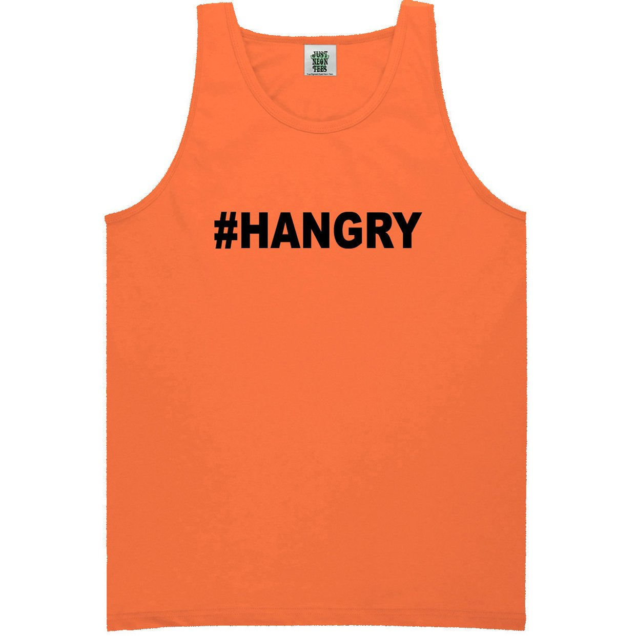 6 Bright Colors ZeroGravitee Youth #Hangry Bright Neon Tank Top