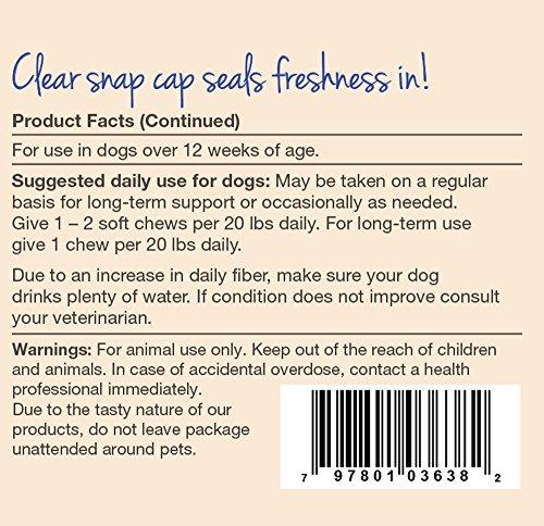 Naturvet Stool Ease Stool Softener For Dogs 40 Ct Soft