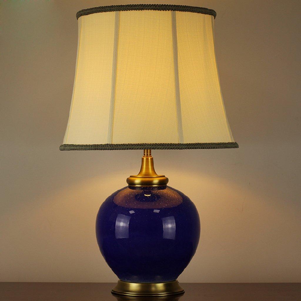 Im Namen der chinesischen Keramik Tischlampe kreative Hochzeit Schlafzimmer Nacht Arbeitszimmer, Wohnzimmer Villa