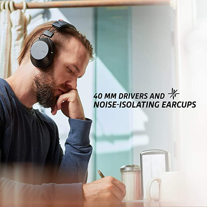 Plantronics 缤特力 BackBeat FIT 6100 无线蓝牙头戴式耳机 3.1折$54.99 三色可选 海淘转运到手约¥413