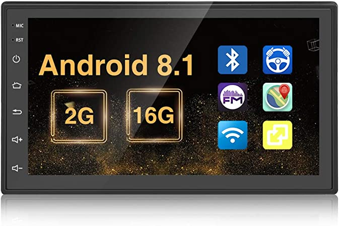 Doppel Din Autoradio Android 2g 16g Quad Core In Dash Elektronik