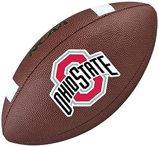 Wilson - Ballon de football américain des Buckeyes d'Ohio State - Taille officielle