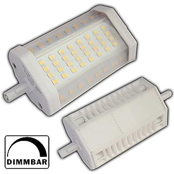 R7s LED 14 Watt 118mm dimmbar warmweiß Leuchtmittel Lampe Halogen j118 Strahler