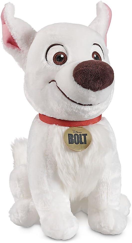 Amazon Com Disney Bolt Plush 14 Inch Toys Games