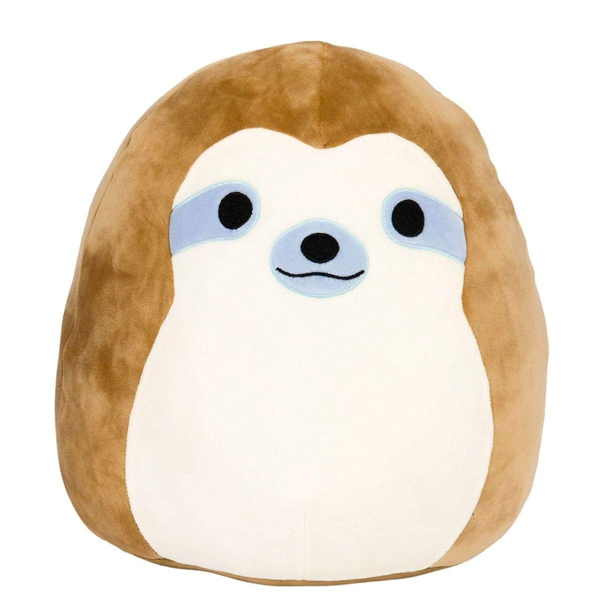 Kellytoy Squishmallow 16'' Simon The Sloth Super Soft Plush Toy Pillow Pet Pal Buddy (Simon The Sloth)