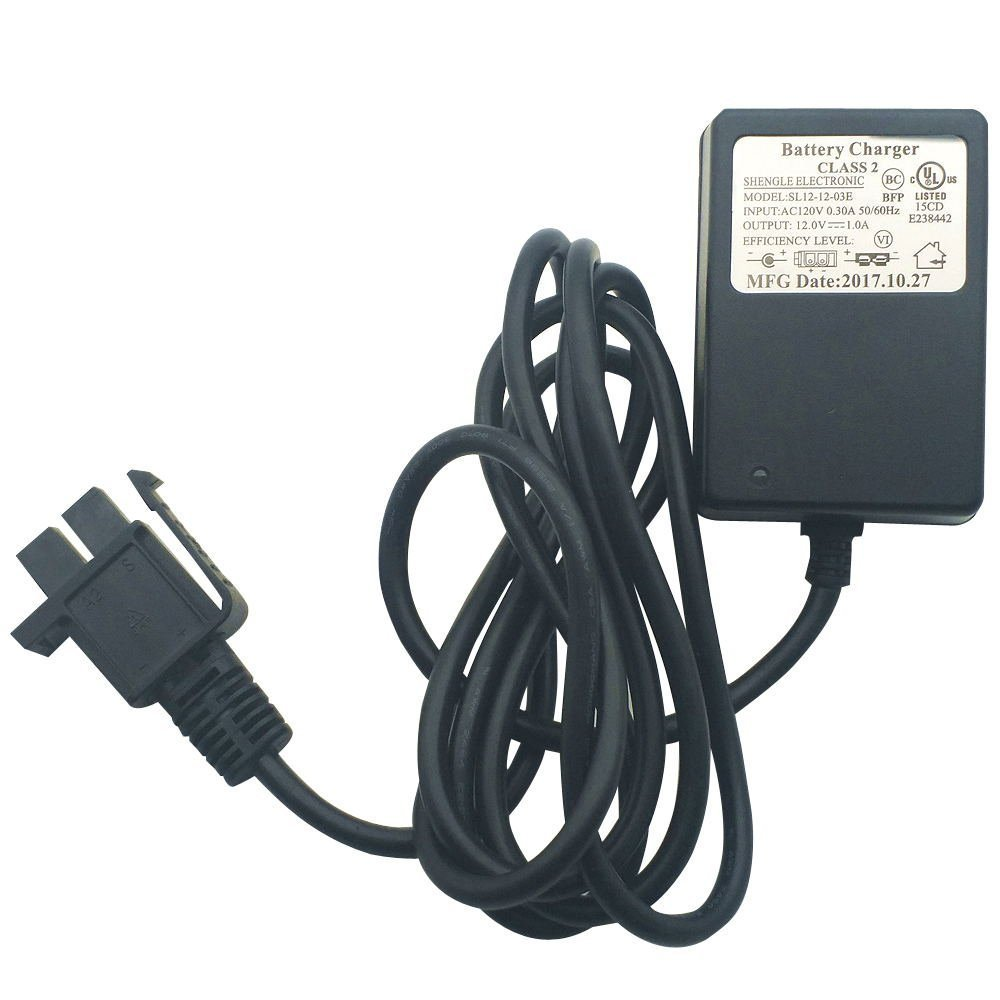 RHT 12V shape Style Charger For Power Wheels Ride On Car 12 Volt Childrens Electric Ride-On Toys Battery Supply by Power Adaptor with Charging ...