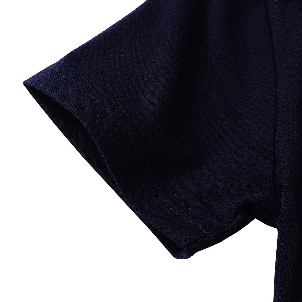 Digirlsor Kids Toddler Girls Boys Pajamas Shorts Set Summer Cotton Short Sleepwear Homewear Pj Clothes Sets 2-7 Years