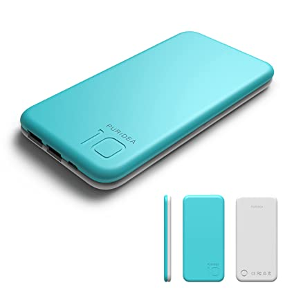 Amazon.com: 10000 mAh Power Bank, Puridea S2 Series Dual USB ...