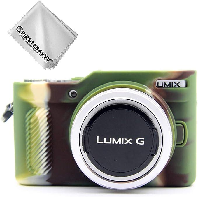 Tpu Gummi Ganzkörper Präzise Passform Kameratasche Fall Tasche Cover Silikon Schutzhülle Gel Kompatibel Mit Panasonic Lumix