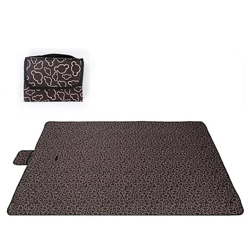 D 200 × 145cm XQY Tapis de pique-nique en tissu pour pique-nique en tissu pour l'extérieur, en tente, étanche à l'humidité,A,200 × 192cm