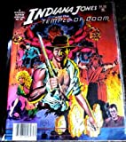 img - for Indiana Jones and the Temple of Doom (Marvel Super Special #30) book / textbook / text book