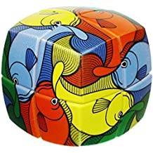 V-Cube 2x2 Fish Pillowed - Twisty Cube Puzzle