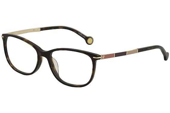 5efbdf94290 CH Carolina Herrera Eyeglasses VHE670K VHE 670K 0722 Brown Optical Frame  53mm