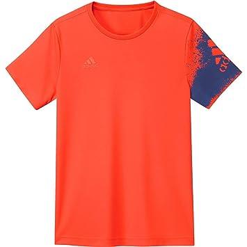 adidas Entrenamiento Fútbol X Poly – Camiseta sport té Rojo/Azul, hombre, color