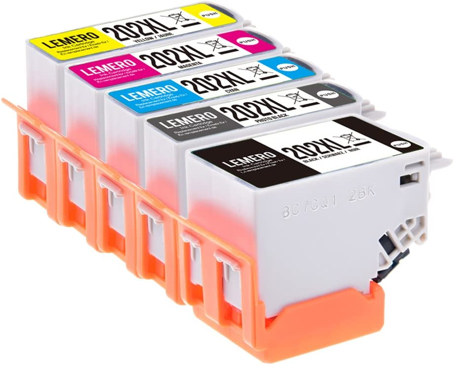5 Lemero 202xl 202 Xl Multipack Xl Printer Ink Computers Accessories