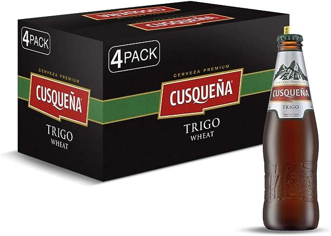 Cerveza Cusqueña Trigo - caja de 24 botellas x 33cl: Amazon.es: Alimentación y bebidas