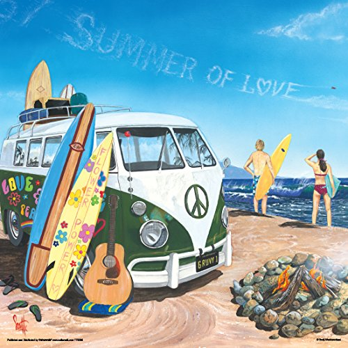 Scott Westmoreland Summer of Love Volkswagen on Beach