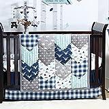 Woodland Trail Forest Baby Crib Bedding - 20 Piece Nursery Essentials Set