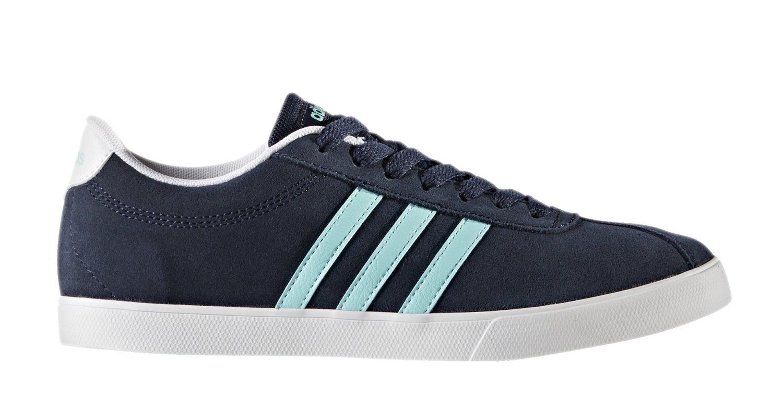 adidas Damen Courtset W Turnschuhe, Schwarz  6.5 Collegiate Navy