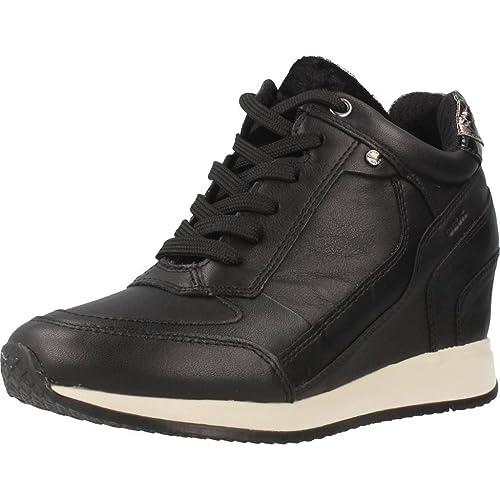 Aclaramiento De 2018 Geox D Nydame A amazon-shoes Camoscio Venta De Separación Caliente Comprar Barato En Italia uJS08