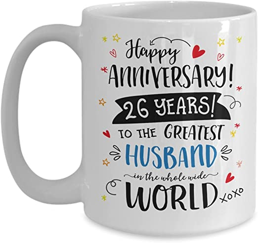 Amazon Com 26th Wedding Anniversary Gifts For Him Greatest