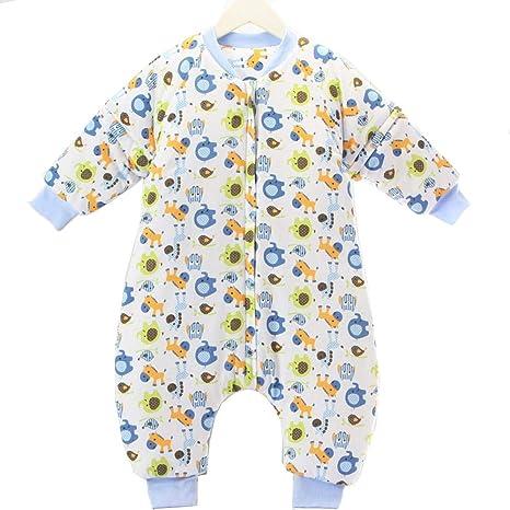 Gleecare Saco de Dormir para bebé,Otoño e Invierno Espesar cálida Colcha Anti-Pajarita