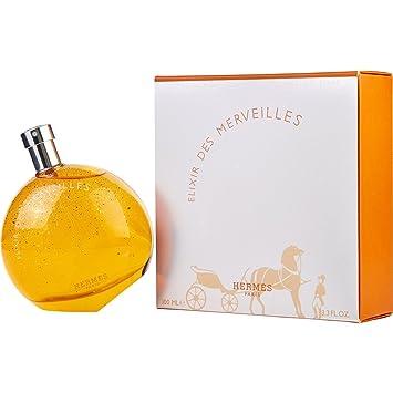Amazon.com : EAU DES MERVEILLES ELIXIR by Hermes EAU DE PARFUM SPRAY 3.3 OZ for WOMEN ---(Package Of 5) : Beauty