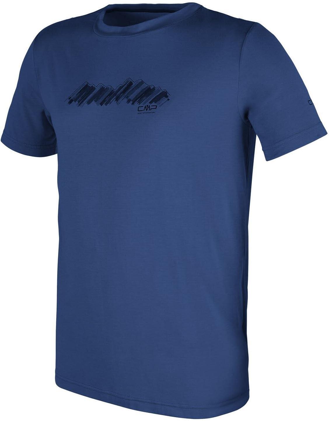 CMP Man Stretch Melange T-Shirt 3T65867