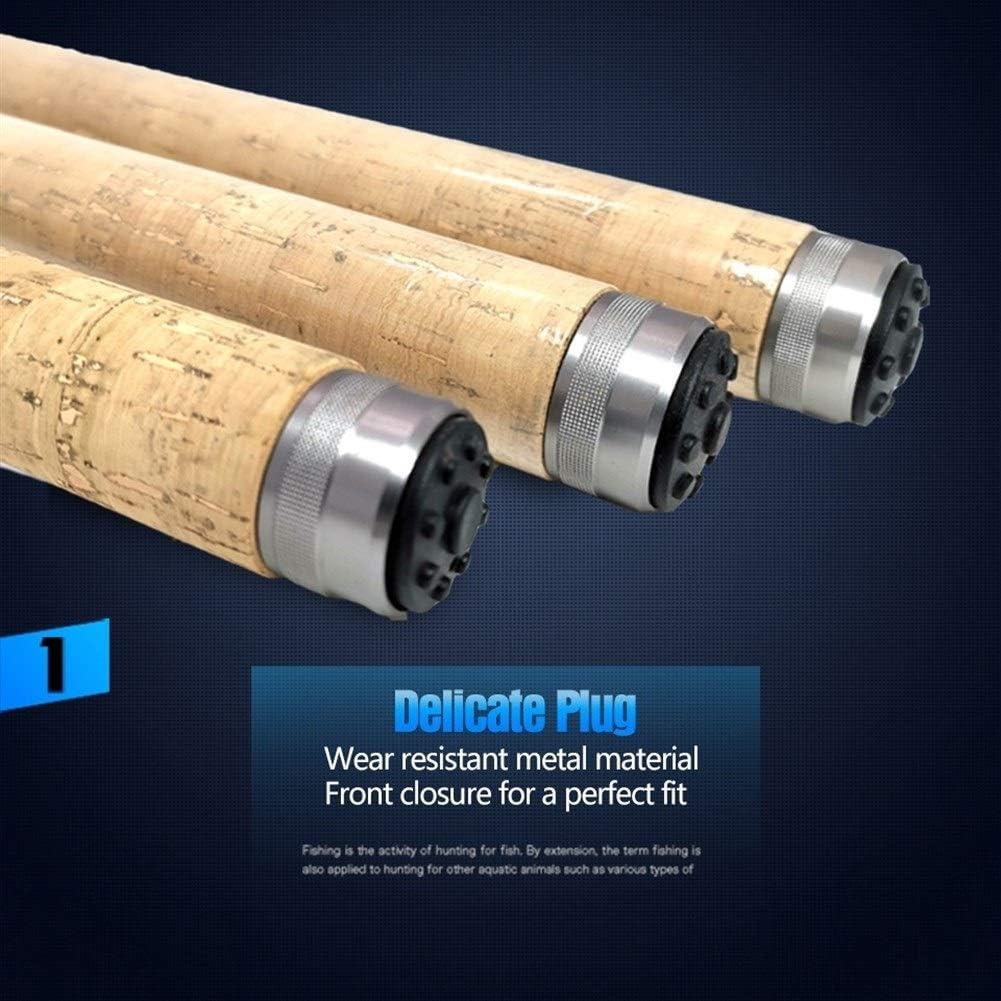 QIYUE 3.0m 3.6m 4.5m p/êche t/élescopique Tige Carbone poign/ée en Bois Spinning mer Rod P/êche /à la Carpe P/ôle Lure Poids 30-150g Size : 210cm