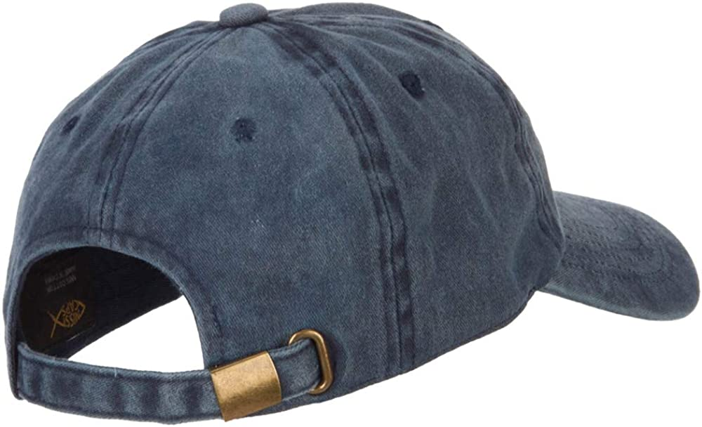 e4Hats.com Halloween Coffin Embroidered Unstructured Cotton Cap