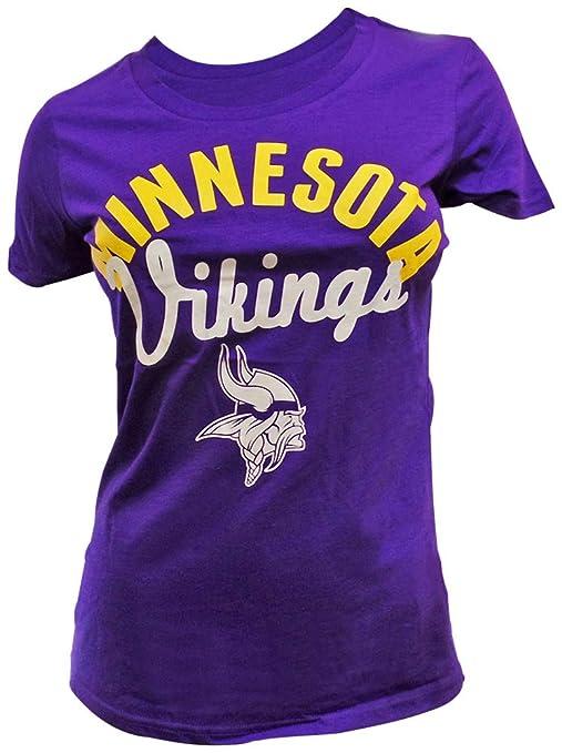 b5b79fb2 G-III Sports Minnesota Vikings Women's Purple Tailgate T-Shirt