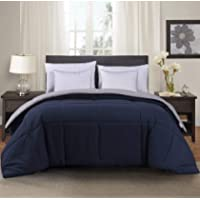 MANZOO 350GSM King Comforter Duvet Insert - Quilted Comforter with Corner Tabs - Hypoallergenic, Plush Siliconized...