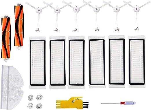 For Xiaomi Mi Robot Roborock S50 Vacuum Cleaner Parts Filter Brush Replace Part
