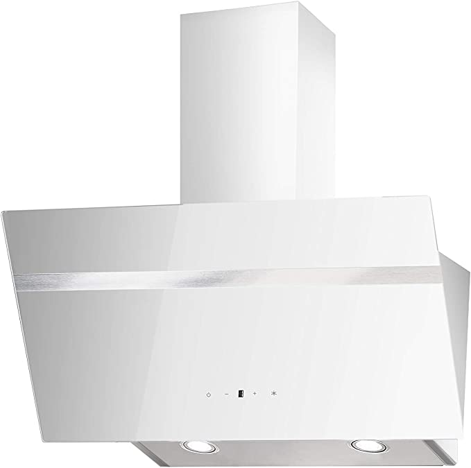 PKM S20-90 AWTY - Cubierta de pared (cristal, 90 cm, iluminación LED, sin cabezal, con aspiración): Amazon.es: Grandes electrodomésticos